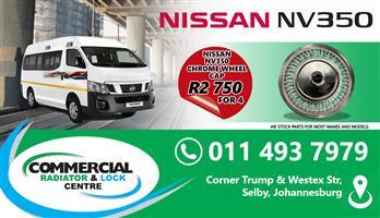 NISSAN NV350 HUB CAPS