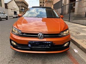 2018 VW Polo hatch 1.0TSI R Line auto