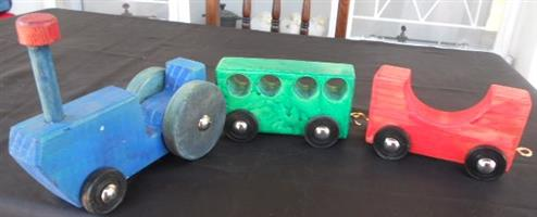 HAND MADE SOLID WOODEN TOYS FOR SALE!  Hours of fun with Solid wood toys!  0814043930