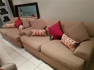 Couches in excellent condition