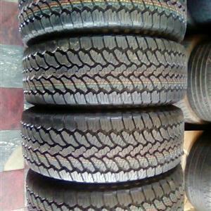 isuzu rims and tyres x 4