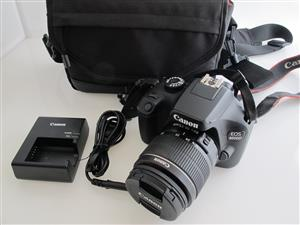 Canon 4000D 18MP DSLR with Bag and 16GB SD
