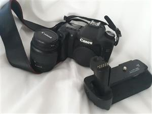Canon d50 with lens