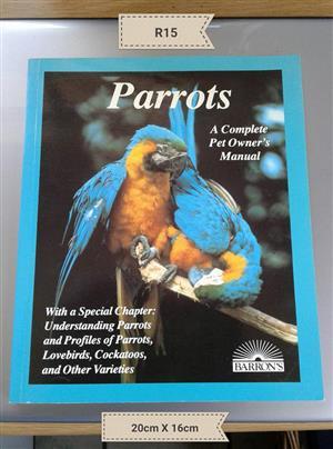 Parrots owner manual for sale