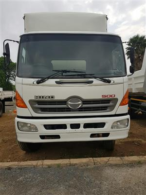 2009 Hino 500, 15-258 Volume Body truck for sale