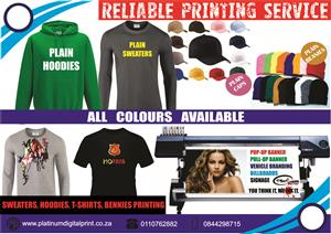 QUALITY HOODIES, GOLF T SHIRTS, BEANIES, UNIFORMS, KID TRACKSUITS. DELIVERY NATIONWIDE