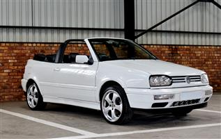 1995 VW Golf cabriol