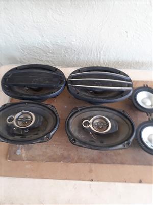 Pioneer speakers 500 Watt