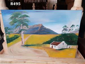 Original Hannes Woolls Painting (910x605)