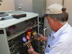 aircon repairs service on site