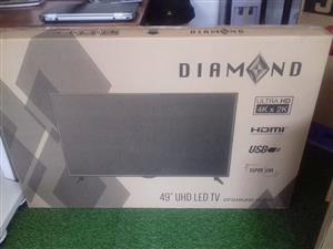 """49"""" DIAMOND UHD LED TV"""