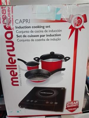 Mellerware induction cooking set