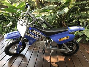 Razor electric 2wheeler bike