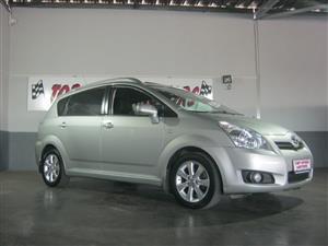 2009 Toyota Verso 1.8 TX