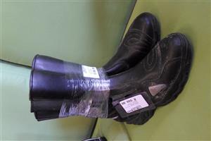Size 41 Hansa Leather Neron Boot