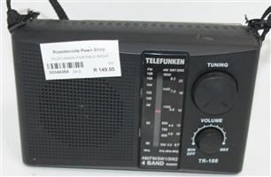 S034435A Telefunken portable radio #Rosettenvillepawnshop