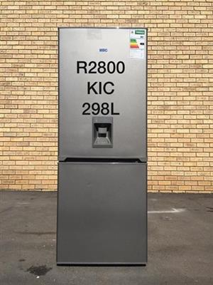 Kic 298L fridge freezer with water dispenser