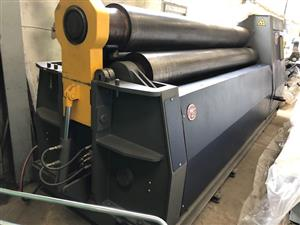 Plate Roller, 3m x 20mm, Hydraulic, Double Pinch