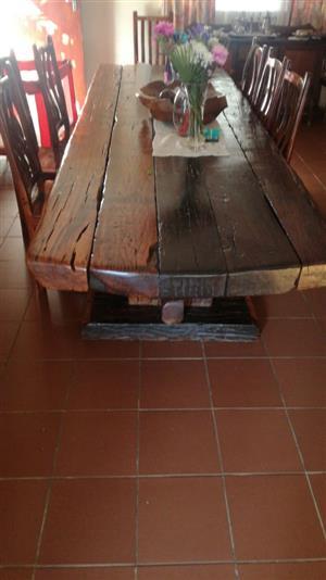 12 Seater Diningroom Set