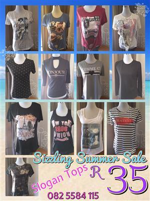 Buy n sell NEW clothing now From R19 - Men's, Ladies, Kids