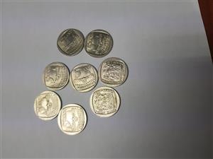 MANDELA R5 COIN 1994 PRESIDENTIAL INAUGURATION MINT CONDITION R500 NEG for sale  Durban - Berea