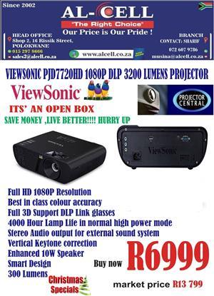 Viewsonic 1080P DLP 3200 Lumens Projector (Open Box)