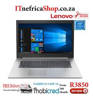 Lenovo IdeaPad 330 Celeron Notebook PC No Operating System