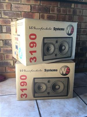 Wharfedale E3190 Studio Monitor Loudspeakers