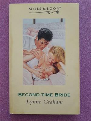 Second-Time Bride - Lynne Graham - Mills & Boon.