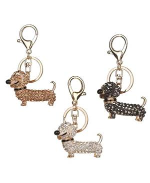 Cute Dachshund Keyrings