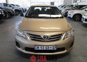 2012 Toyota Corolla 1.3 Impact