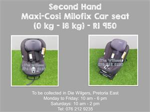 Second Hand Maxi-Cosi Milofix Car seat (0 kg - 18 kg)