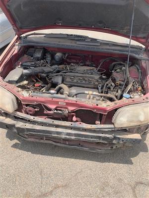 Honda Odyssey Stripping
