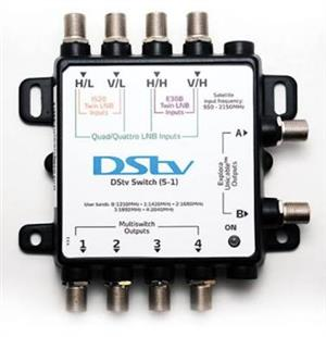 DSTV Explora switch