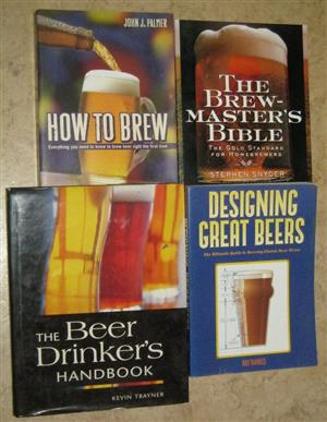 a few BEER books