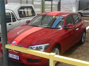 2014 BMW 1 Series 5-door 118i A/T (F40)