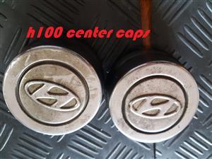 H100 center caps