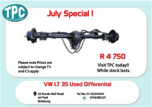 VW LT 35 Used Diff for Sale at TPC