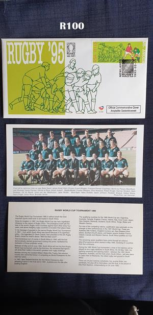 Rugby World Cup 1995 First Day Cover