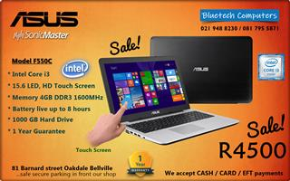 Asus 15.6-inch Touchscreen Laptop Intel Core i3 - 1TB Hard Drive - 1 Year Guarantee for sale  Cape Town - Northern Suburbs