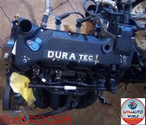 Imported used  FORD ROCAMDURATEC 1.6L 8V, ROCAM 1.6L, Complete second hand used engine