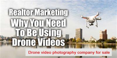 .A Drone marketing company for sale