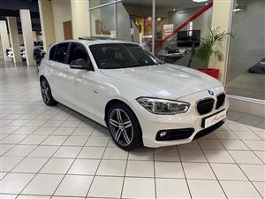 2016 BMW 1 Series 120i 5 door Sport Line auto