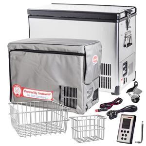 BDC/42SS Stainless Steel Fridge/Freezer Single Door