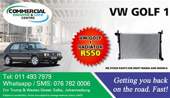 VW Golf 1 Radiator For Sale.