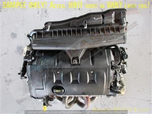 PEUGEOT 10FHBV 1.6L DOHC 16V Engine -207