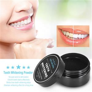 100% Natural Activated Charcoal Teeth Whitening