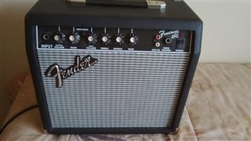 Fender frontman15G guitar amplifier
