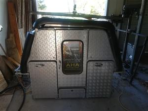 AHA 45 Camper canopy for single or double cab bakkies