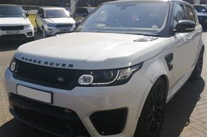 2017 Land Rover Range Rover Sport RANGE ROVER SPORT 5.0 V8 SVR (423KW)